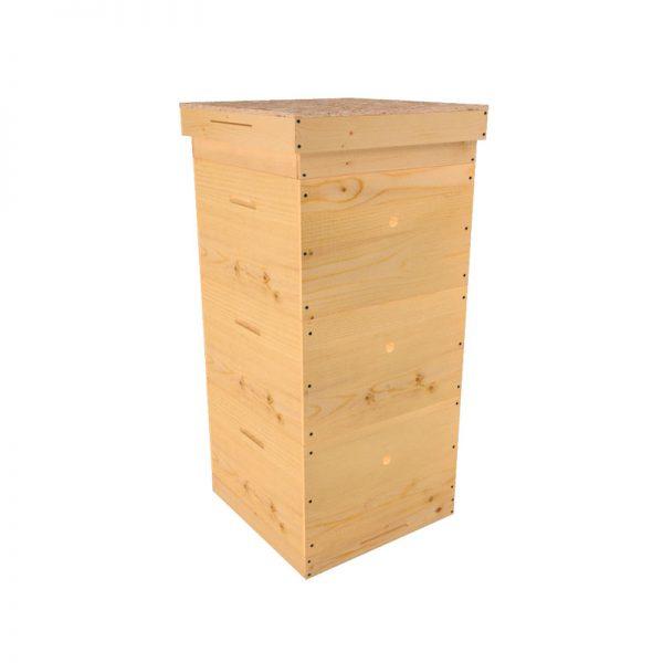 Улей многокорпусный 10 рамочный, 3 корпуса, 300 мм, сосна